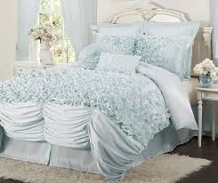 White Bed Set King Amazon Com Lush Decor Lucia 4 Piece Comforter Set California
