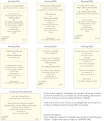 exles of wedding ceremony programs wedding invitations exles uk finding wedding ideas