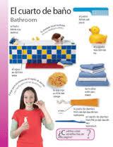 The Bathroom In Spanish Themed Vocabulary Bathroom El Cuarto De Baño Spanish