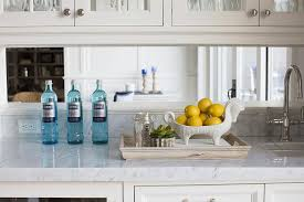 mirror backsplash in kitchen mirrored kitchen backsplash design ideas