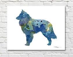 belgian sheepdog california 45 off today belgian sheepdog art tile ceramic coaster print