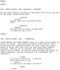 movie script template how to format a screenplay learning the