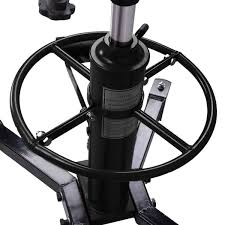 material handling u0026 industrial lift 1100 lb 2 stage hydraulic transmission jack lift hoist jacks