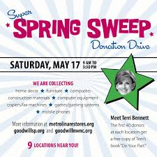 Goodwill Furniture Donation by Super Spring Sweep Goodwill And Metrolina Restores Partner For