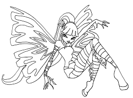 Sirenix Musa By Elfkena On Deviantart Winx Club Musa Coloring Pages