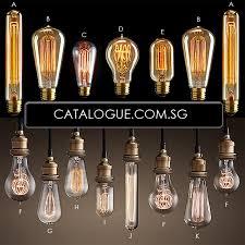 Chandelier Lights Singapore Edison Light Bulbs