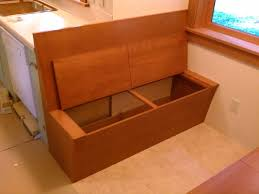Douglas Fir Kitchen Cabinets Custom Made Douglas Fir Storage Bench Dining Area By Artisan