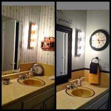 Bathroom Before And After by Mary Homann U0027s Harvest Gold Bathroom Before And After Martha
