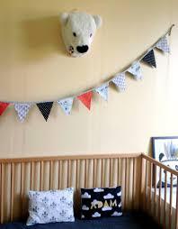 fanion chambre bébé guirlande de fanions décoration chambre bébé enfant tipi indien