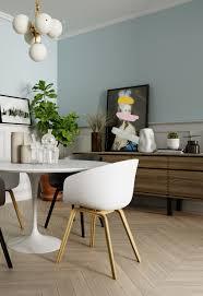 Scandinavian Dining Room Chairs Three Inspirational Scandinavian Interiors Achieving Pastel Perfection