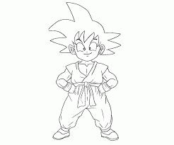 staggering kid goku coloring pages 20 kid super saiyan print