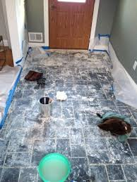 removing paint from slate tile help