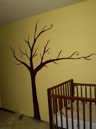 simple tree mural for josh and miles room for the home simple tree mural for josh and miles room hallway wallstree muralsbaby