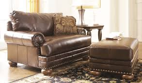 furniture the sumptuous and elegant leather accent chairs for