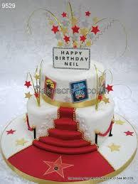 Movie Themed Cake Decorations 26 Best Oscar Cake Images On Pinterest Birthday Cakes Birthday
