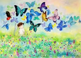 silent sn il lost in a cloud of butterflies