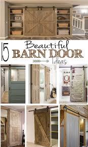 barn door ideas 15 beautiful barn door ideas remodelando la casa