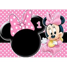 minnie mouse 1st birthday baby minnie mouse birthday 1 2 size frosting sheet cake