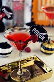 raspberry martini halloween martini hairspray and highheels