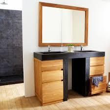 Ikea Meuble Double Vasque by Cuisine Meuble Salle De Bains En Bois Design Line Art Origin