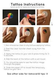 online tattoo instructions cosplay ink factory