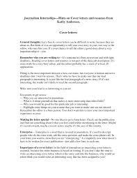 practicum cover letter journalism internships cover letter free vinodomia