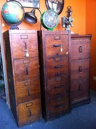 Antique Oak File Cabinet Wooden File Cabinets Vintage Wooden Filing Cabinet 7 Office