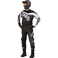 motocross gear philippines new oneal 2018 mx element black grey jersey pants dirt bike