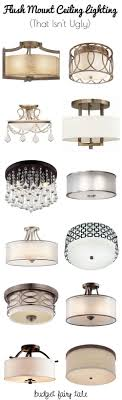 Seeking Castles Decorating Our Castle Seeking Flush Mount Lighting Options That