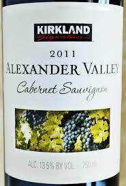 krikland kirkland signature cabernet sauvignon alexander valley review