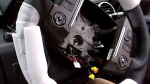 land rover steering wheel upgrading a land rover discovery 4 steering wheel to paddle shift