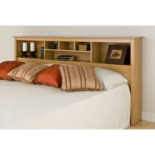 King Headboard With Storage Prepac Sonoma King Storage Headboard Colors Walmart