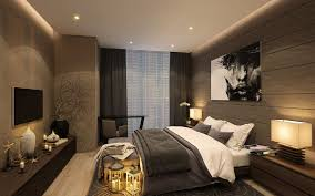 Resort Bedroom Design Interior Captivating Resort Bedroom Design With Brown Wall Color