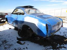 volkswagen squareback 1970 junkyard find 1970 volkswagen karmann ghia the truth about cars