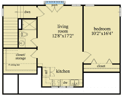 garage floor plans with apartments 2 bay garage apartment plan 29856rl architectural designs