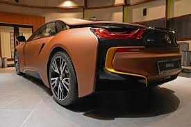 Bmw I8 Yellow - do you think of this brown and yellow bmw i8