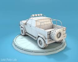 jeep cartoon offroad cartoon jeep suv 3d model cgtrader