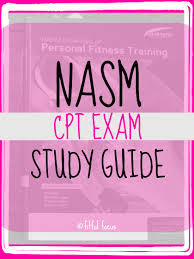 nasm exam study guide personal trainer exercises and lifting