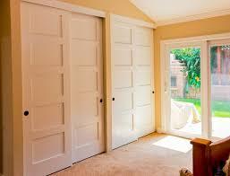 Closet Panel Doors 4 Panel Sliding Closet Doors Home Design Ideas