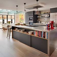 industrial style kitchen island open plan kitchen design ideas open plan kitchen open plan and