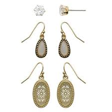 earings for sensitive ears sensitive ears fashion earrings for jewelry watches jcpenney