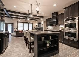 dark cabinet kitchens perfect combine dark kitchen cabinets zachary horne homes