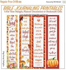 autumn printable bible journaling margin strips or bookmarks are