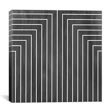 decor mid century modern patterns black and white fireplace