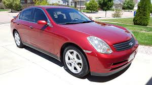2003 infiniti g35 sedan for sale garnet fire metallic graphite