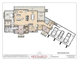 a frame style house plans prefab mountain home plans forest view davis frame co