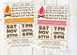 party invitations how to create bonfire party invitations bonfire