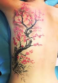 collection of 25 cherry blossom branch on right shoulder