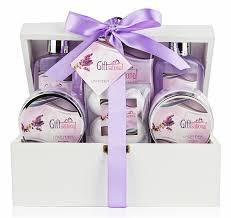 lavender gift basket spa gift basket with lavender fragrance