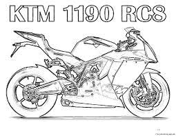 free printable motorcycle coloring pages kidsfree printable